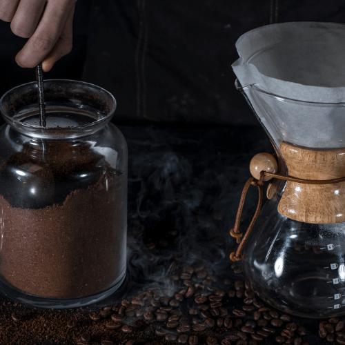 CHEMEX ground coffee